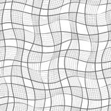 Modelo inconsútil Textura de rayas diagonales onduladas en colores pastel Fondo abstracto con estilo Fotografía de archivo