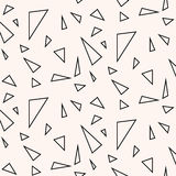 Modelo inconsútil Textura geométrica Imagenes de archivo