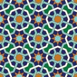 Modelo inconsútil tres de Abadan Fotos de archivo libres de regalías
