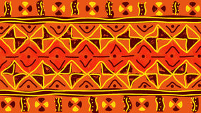 Modelo inconsútil tribal Imagen de archivo libre de regalías