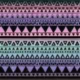 Modelo inconsútil tribal azteca stock de ilustración