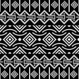 Modelo inconsútil tribal Fondo étnico del vector ilustración del vector