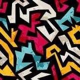 Modelo incons?til de la pintada abstracta brillante del fondo ilustración del vector