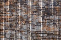 Modelo incons?til del envase Cerca de aluminio Placa de pared de acero galvanizada imagen de archivo