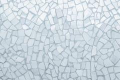 Modelo incons?til del mosaico quebrado de las tejas fotografía de archivo