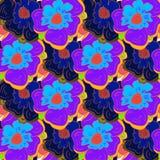Modelo incons?til floral stock de ilustración