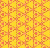 Modelo incons?til geom?trico del extracto colorido brillante Color coralino y amarillo ilustración del vector