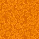 Modelo inconsútil de Halloween Fotos de archivo