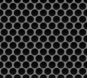 Modelo inconsútil de la red del metal Fotos de archivo