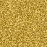 Modelo inconsútil de la textura de oro del brillo en estilo del oro Diseño del vector Imagen de archivo