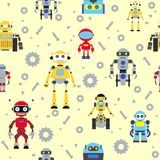 Modelo inconsútil de los robots Imagen de archivo