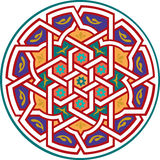 Modelo inconsútil del Arabesque Imagen de archivo