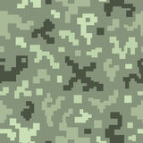 Modelo inconsútil del camuflaje. Foto de archivo