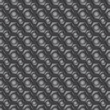 Modelo inconsútil del carbono Imagen de archivo libre de regalías