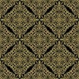 Modelo inconsútil del damasco Imagen de archivo libre de regalías