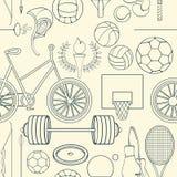 Modelo inconsútil del deporte Foto de archivo libre de regalías