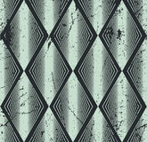 Modelo inconsútil del Rhombus, fondo geométrico abstracto, vector Foto de archivo libre de regalías