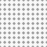 Modelo inconsútil del vector Fondo blanco y negro geométrico simétrico con el Rhombus y las líneas Ornamento de repetición decora Imagenes de archivo