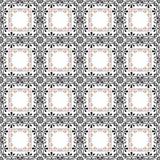 Modelo inconsútil geométrico de los elementos del extracto retro del fondo Imagenes de archivo