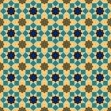 Modelo inconsútil islámico del fondo Imágenes de archivo libres de regalías