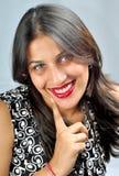 Modelo indio de la muchacha Fotos de archivo libres de regalías