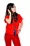 Modelo indonésio bonito Imagem de Stock Royalty Free