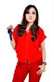 Modelo indonésio bonito Imagem de Stock
