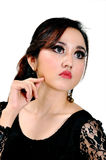 Modelo indonésio bonito Fotos de Stock Royalty Free