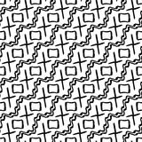 modelo inusual del inconformista de la geometría de la almohada blanco y negro de la moda Imagen de archivo