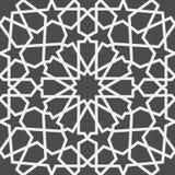 Modelo islámico Modelo geométrico árabe inconsútil, ornamento del este, ornamento indio, adorno persa, 3D Textura sin fin Foto de archivo libre de regalías
