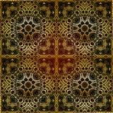 Modelo islámico geométrico inconsútil Foto de archivo