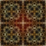 Modelo islámico geométrico inconsútil Foto de archivo libre de regalías