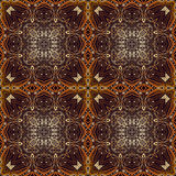 Modelo islámico geométrico inconsútil Fotografía de archivo libre de regalías