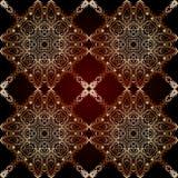 Modelo islámico geométrico inconsútil Imagen de archivo