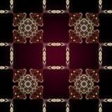 Modelo islámico geométrico inconsútil Fotos de archivo libres de regalías