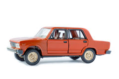 Modelo isolado carro do brinquedo Imagens de Stock