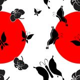 Modelo japonés nipón background1 Fotos de archivo