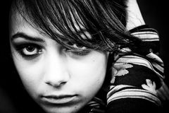 Modelo joven   Foto de archivo libre de regalías