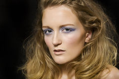 Modelo joven de moda Fotos de archivo