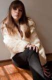 Modelo joven en equipo de moda Fotografía de archivo libre de regalías