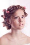 Modelo joven hermoso Imágenes de archivo libres de regalías
