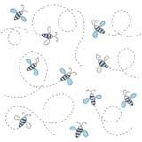 Modelo de la abeja Fotografía de archivo libre de regalías