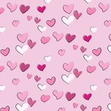 Modelo lindo romántico abstracto del corazón Decoración del amor Textura de la moda del regalo de la tarjeta del día de San Valen Imagen de archivo libre de regalías