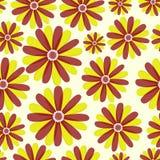 Modelo lindo simple en flores abstractas Impresión de Ditsy Fondo inconsútil floral Impresiones de la moda Foto de archivo