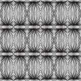 Modelo linear blanco y negro étnico Imagen de archivo libre de regalías