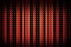 Modelo linear en negro y rojo Fotos de archivo libres de regalías