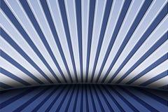 Modelo linear fresco en azul Imagenes de archivo