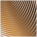 Modelo linear geométrico con mirada de oro Fotografía de archivo libre de regalías