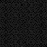 Modelo linear inconsútil neutral del Flourish para el diseño retro Imagenes de archivo