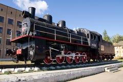 Modelo locomotivo 4290 do monumento Imagens de Stock